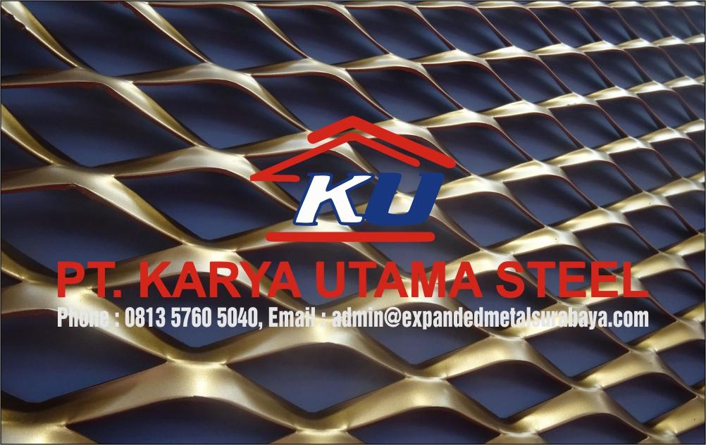 Expanded Metal Type Ornamesh Harga Termurah Gudang Surabaya